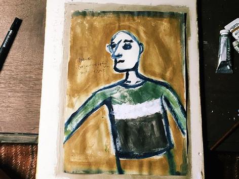 Roimoの人と抽象画とオーナメントの販売