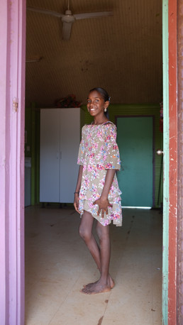 Sunday best on Elcho Island