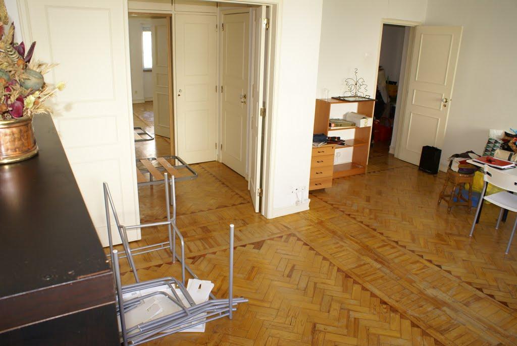 Sala comum e quarto 2