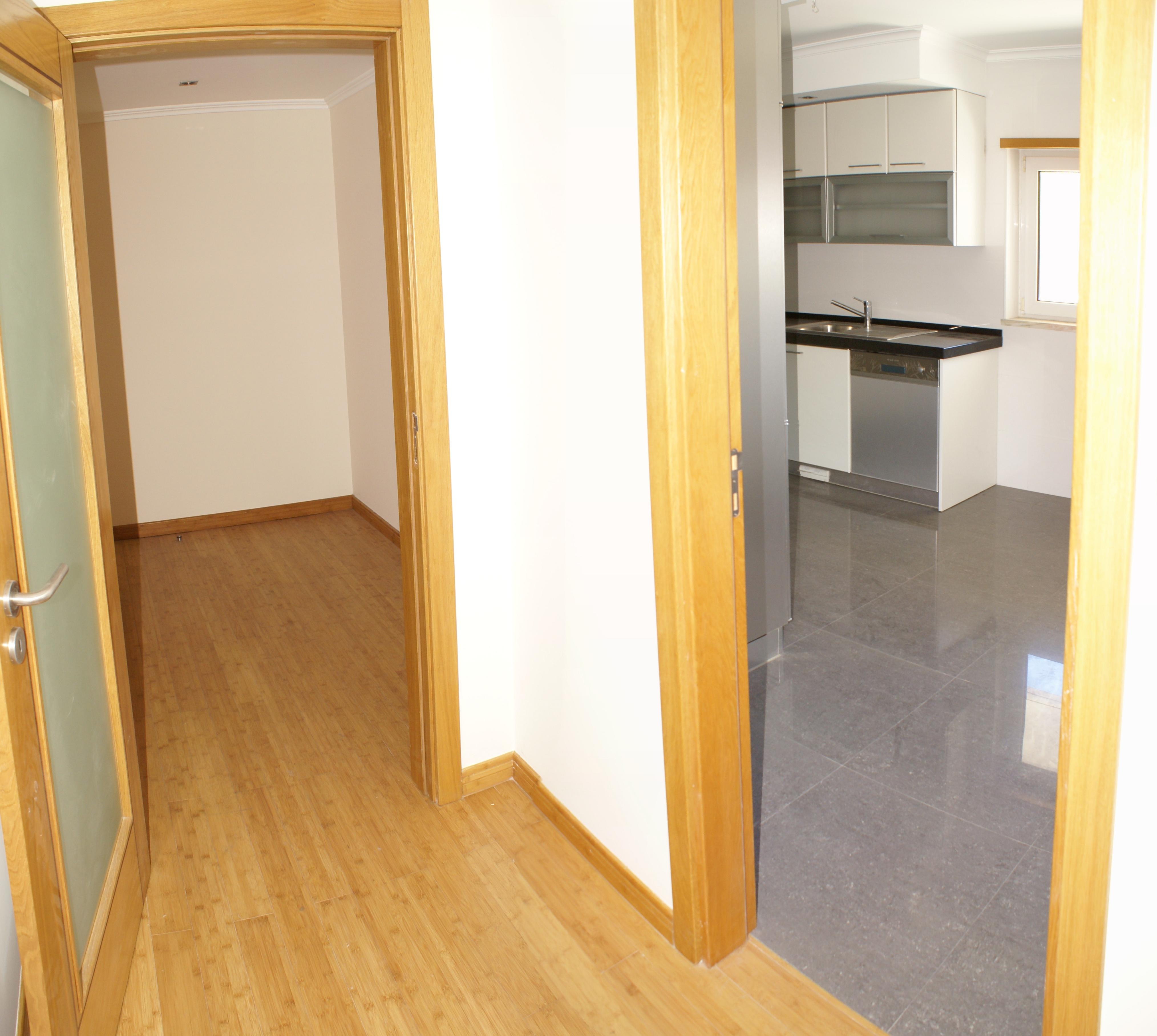 Hall e cozinha