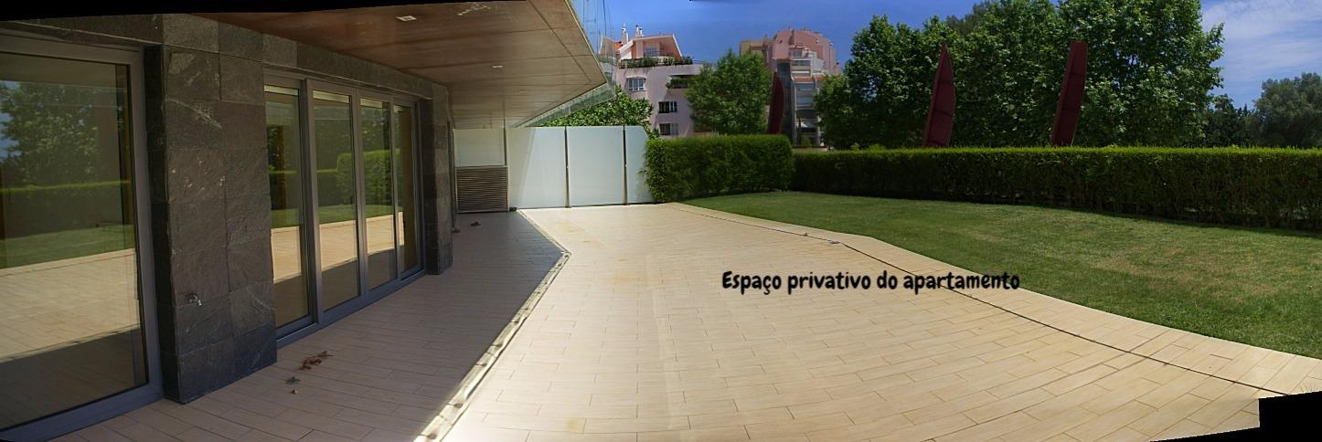 espaço exterior privativo