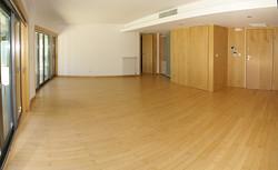 Panorama da sala