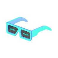 BRIGHT FUTURE Pastel Turquoise & Blue NFT