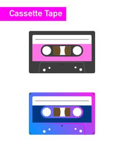 Cassette Tape - Affinity Designer