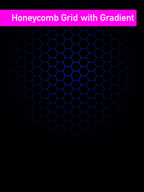 Honeycomb with gradient  - Affinity Desi