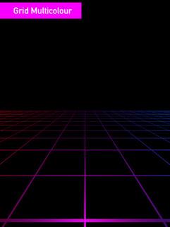 Grid Multicolour - Affinity Designer