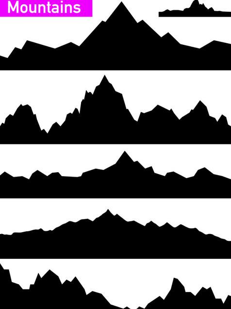 Mountains  - Affinity Designer
