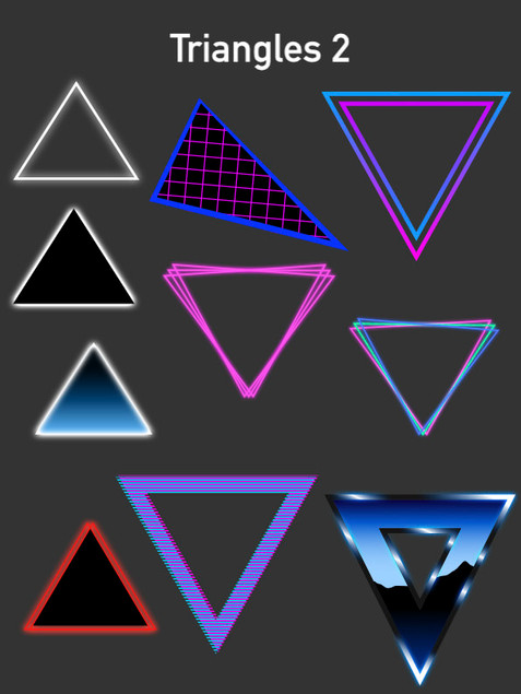Triangles 2 - Affinity Designer