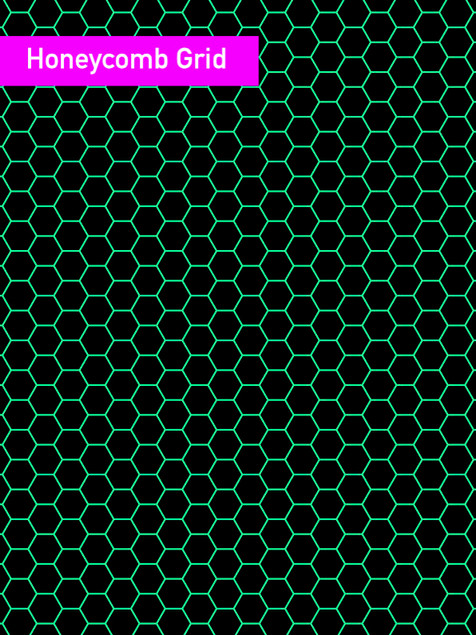 Honeycomb Grid - Affinity Designer