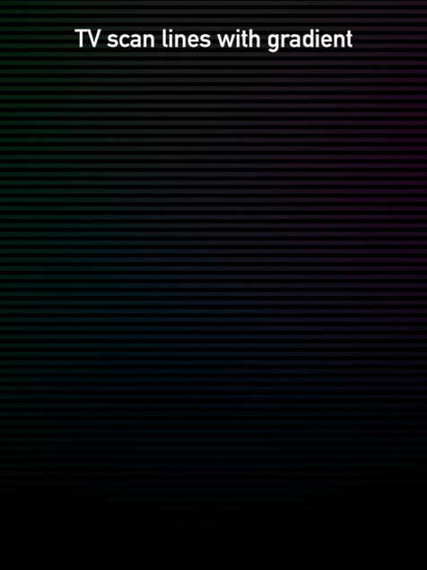TV Scan Lines with Gradient 2