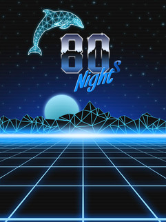 Retrowave vector pack Example 1