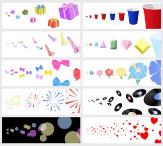 Affinity Designer Celebration Brush Pack