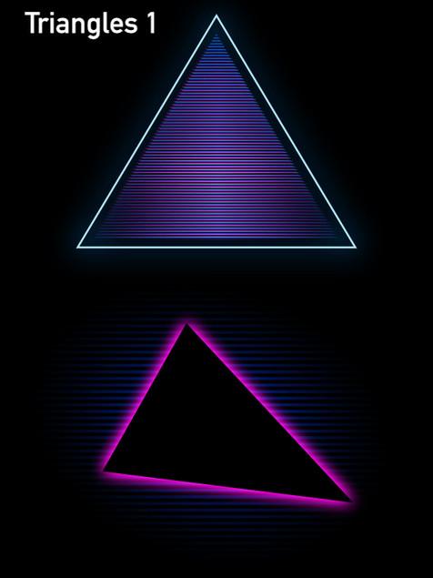 Triangles 1 - Affinity Designer