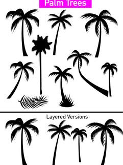 Palm Trees - Affinity Designer