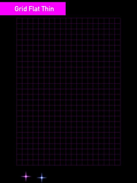 Grid Flat Thin - Affinity Designer