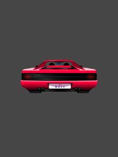 Sports Car Low Angle - Affinity Designer