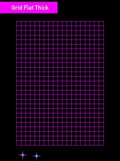 Grid Flat Thick - Affinity Designer
