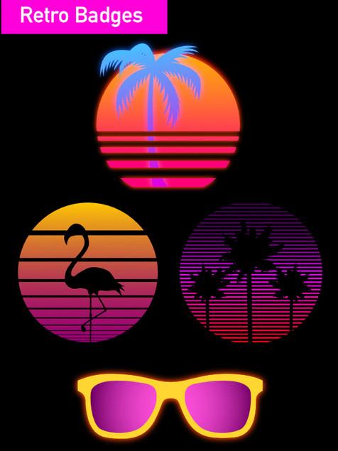 Retro Badges - Affinity Designer