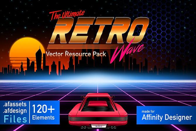 Affinity Designer Ultimate Retrowave Vec
