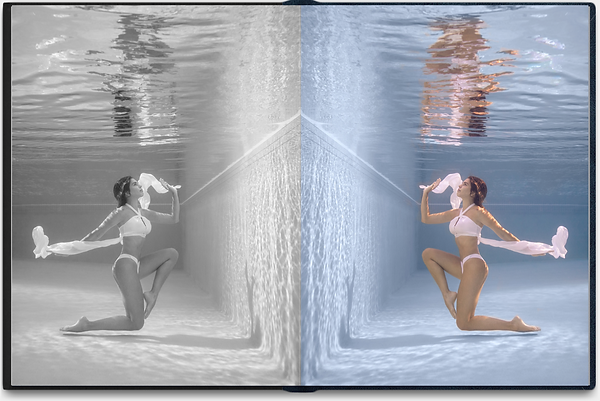 Underwater woman photo in the pool 5