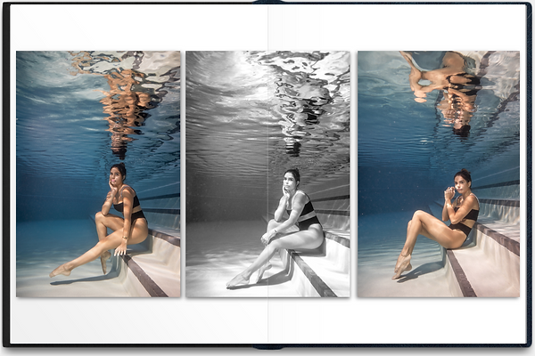Underwater woman photo in the pool 7