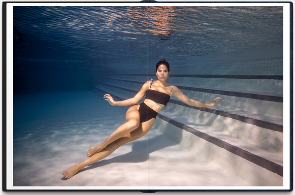 Underwater woman photo in the pool 2