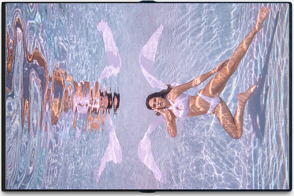 Underwater woman photo in the pool 3