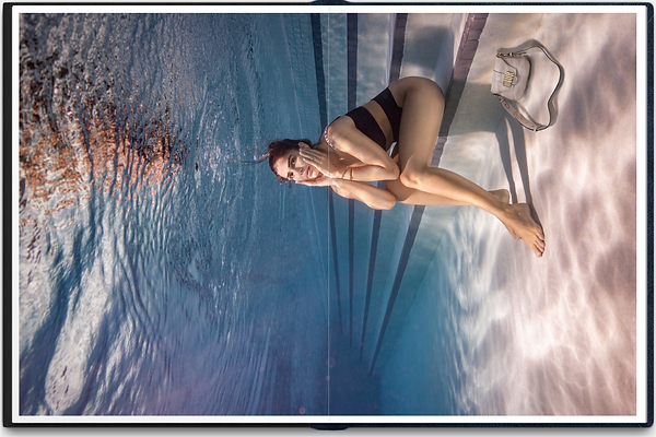 Underwater woman photo in the pool 6