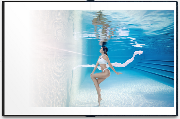 Underwater woman photo in the pool 8