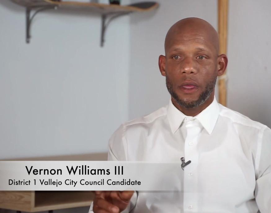 Vernon Williams - Meet the Candidates, Vallejo