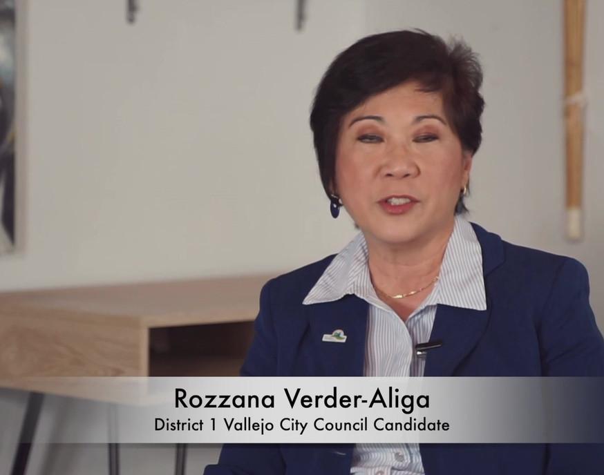 Rozzana Verder-Aliga - Meet the Candidates, Vallejo