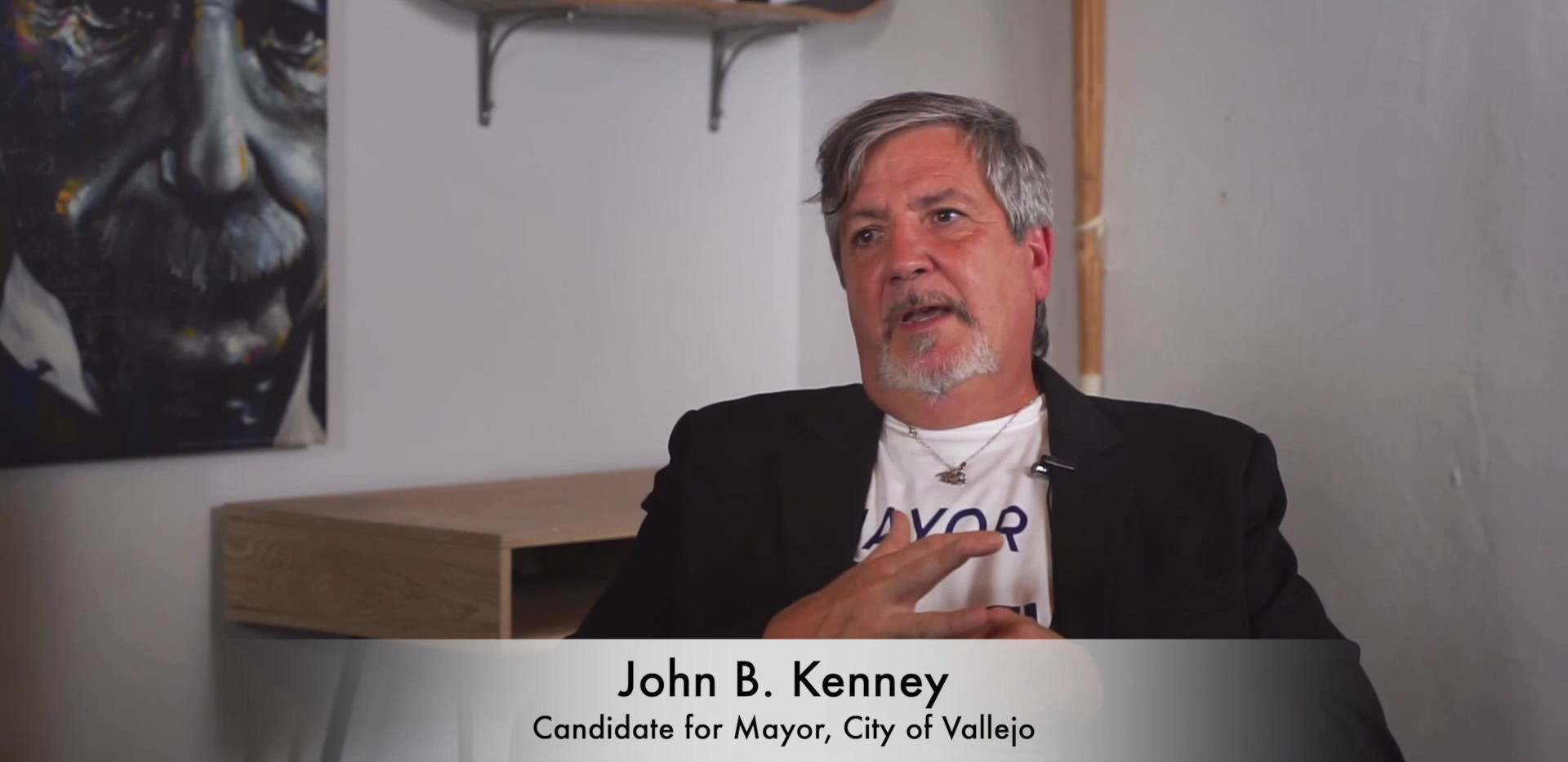 John B Kenney - Meet the Candidates, Vallejo