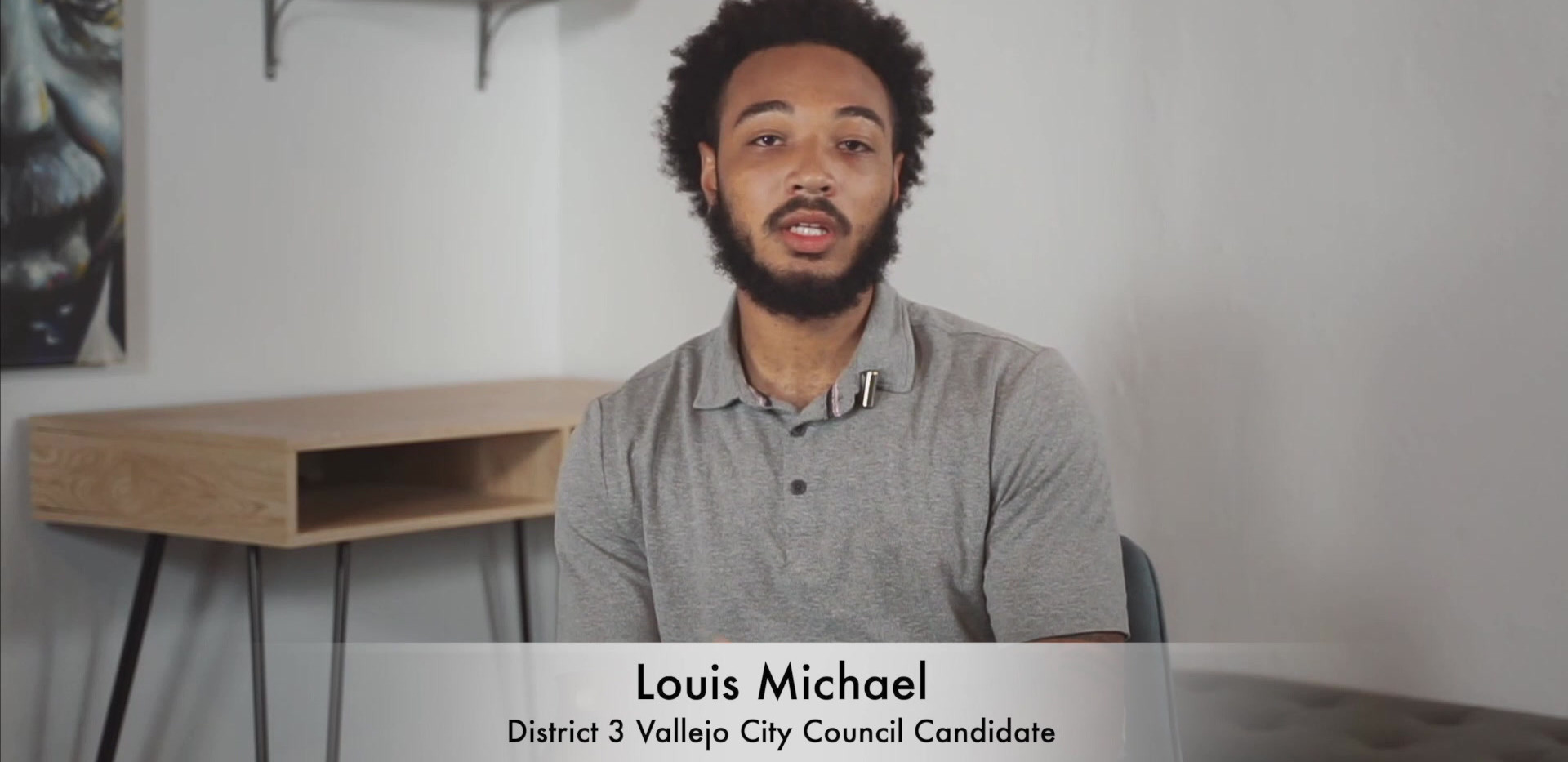 Louis Michael - Meet the Candidates, Vallejo