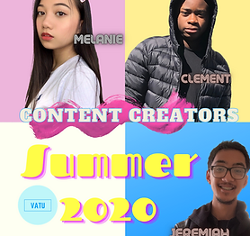 Club Stride Summer Content Creators