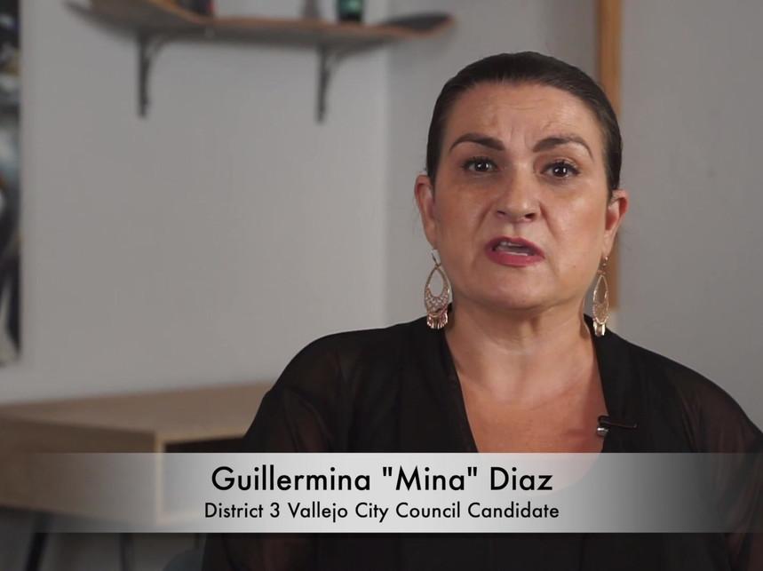 Mina Diaz - Meet the Candidates, Vallejo
