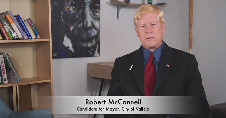 R McConnell - Meet the Candidates, Vallejo