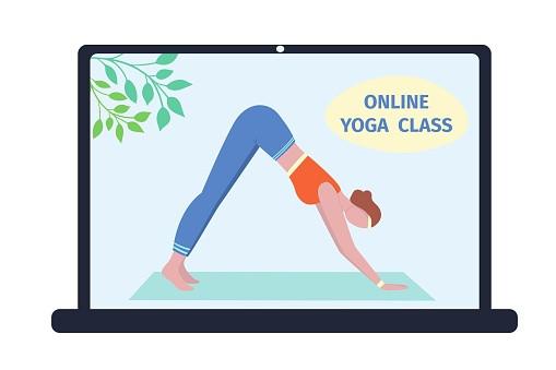 Easy Vinyasa Flow online / outdoor Yoga Zarah