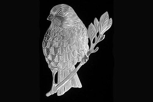 Sparrow Brooch