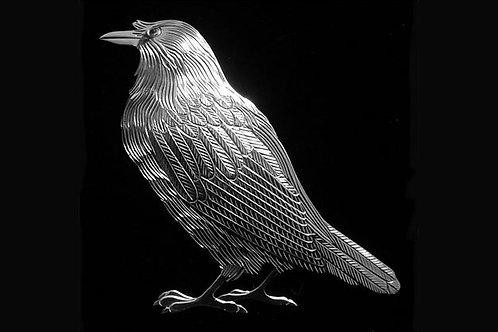 Raven Brooch