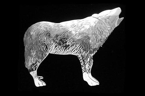 Wolf Brooch