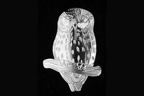 Saw Whet Owl Pin