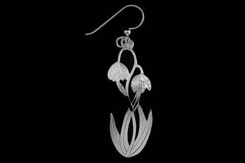 Chocolate Lilly Earrings