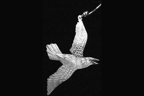 Flying Raven Earrings