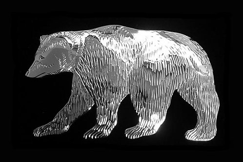 Grizzly Bear Brooch