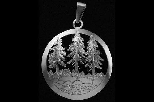 Tree and Sea Pendant