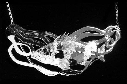 Rockfish in Kelp Necklace