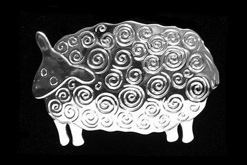 Sheep Brooch