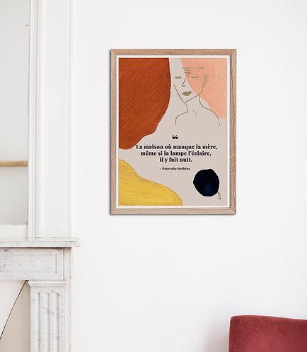 KEA - Affiche aquarelle