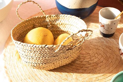 BARKOUK - Corbeille à pain ou à fruits en osier
