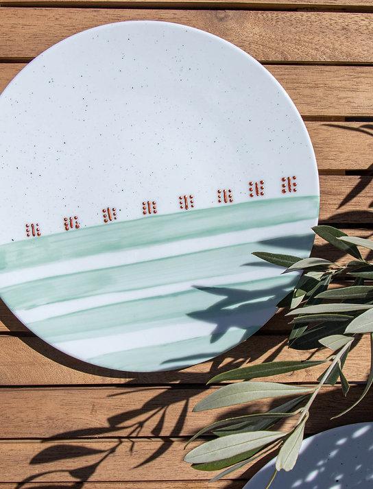 MALTA - Assiette en porcelaine